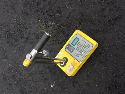Image of a portable gauge.